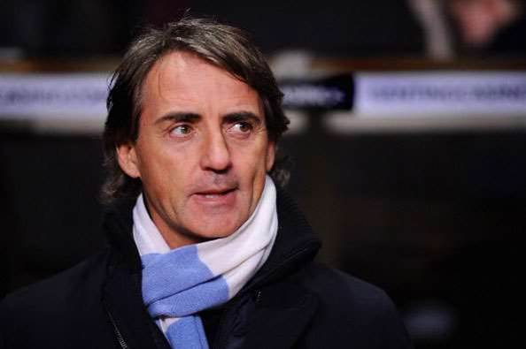 Mancini: United's hefty lead undeserved