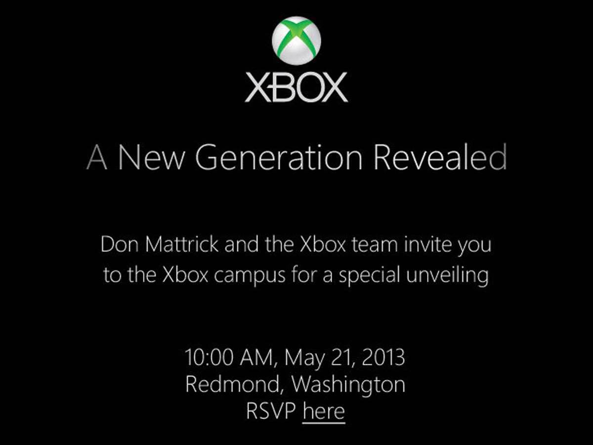 Next Xbox to be revealed on May 21st