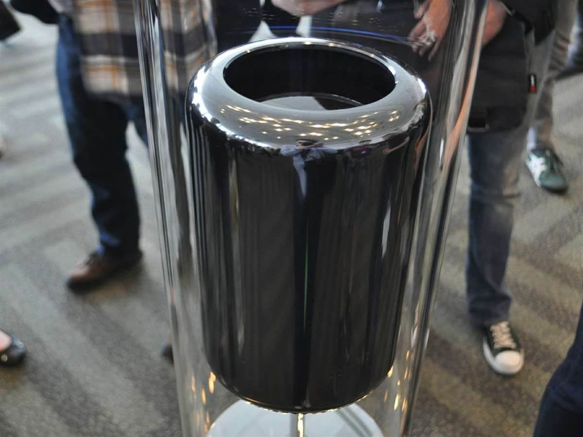 Hands-off with the Apple Mac Pro