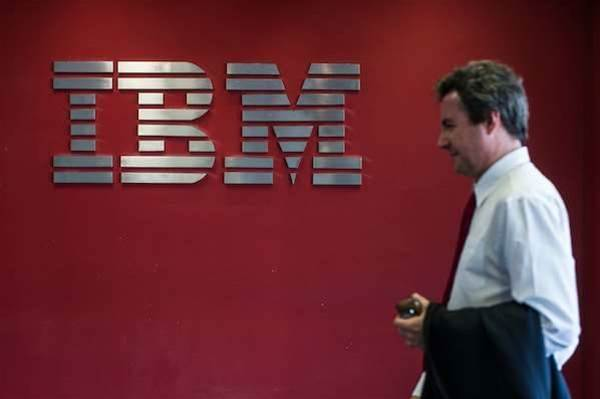 IBM revenue hits five-year low