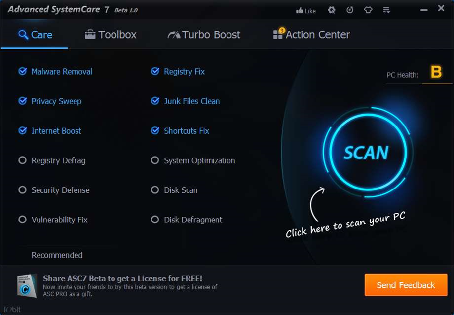 IObit Advanced SystemCare 7.0 beta 1.0 now available