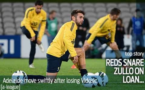 Adelaide snare Zullo on loan