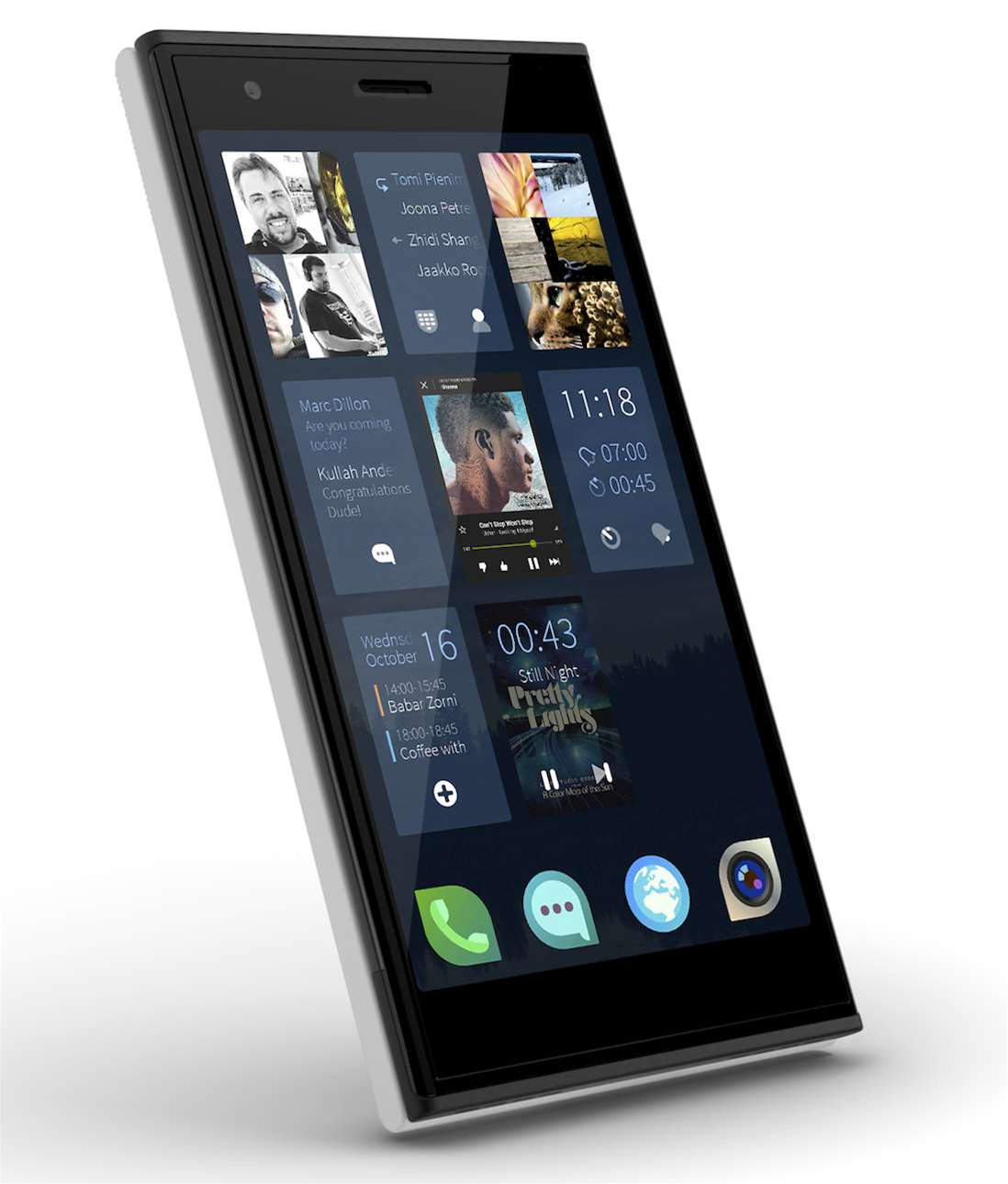 Jolla Linux-based smartphone launches
