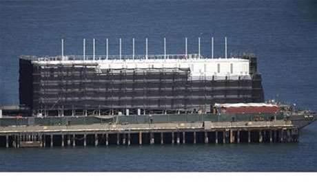 Google's mystery barge under investigation