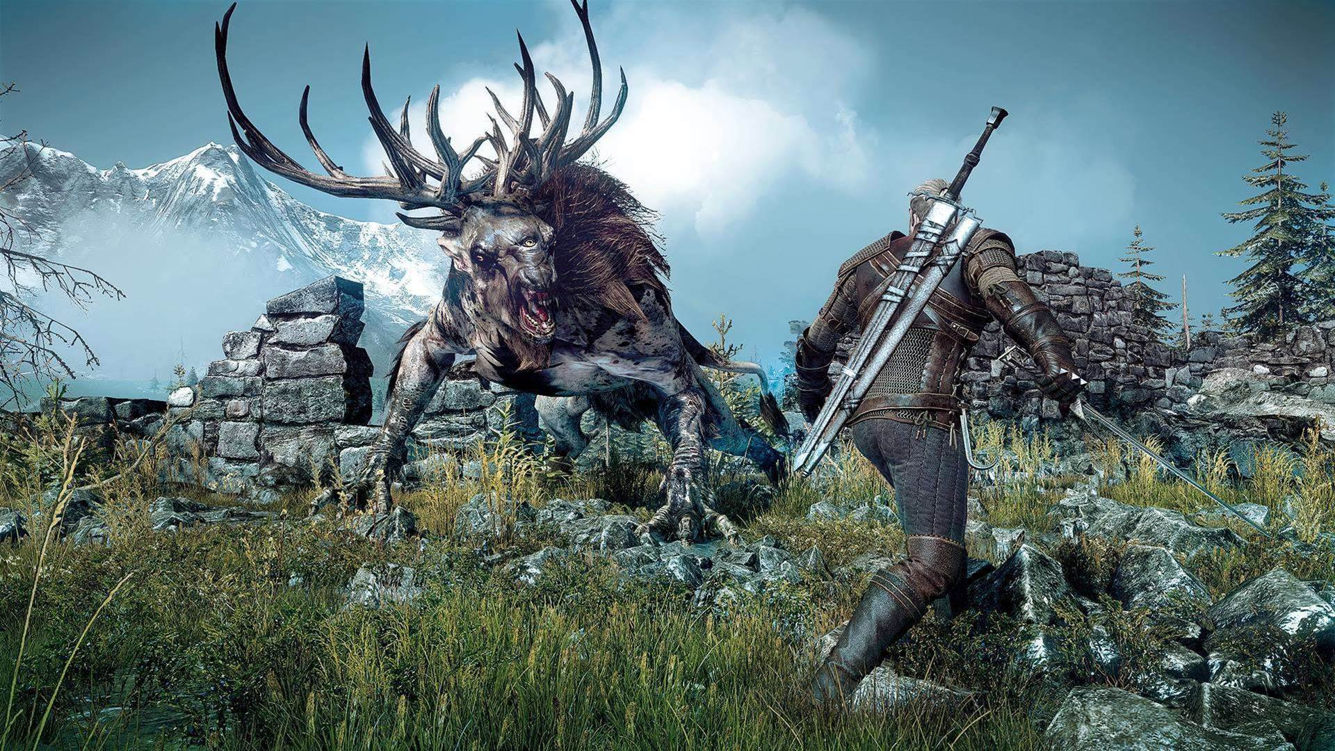 It's a bad day to be a horse in The Witcher 3: The Wild Hunt opening cinematic