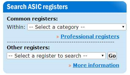 ASIC plans Oracle overhaul for corporate registers