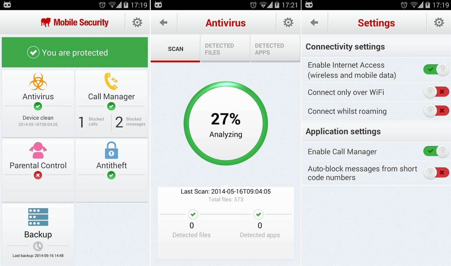 BullGuard Mobile Security for Android debuts