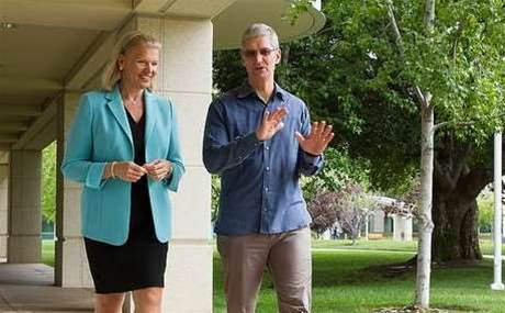 IBM's shock channel deal with Apple