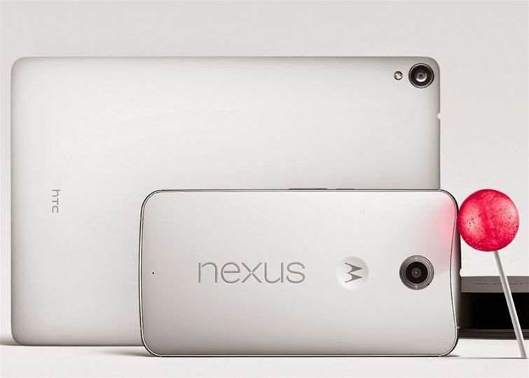 Google announces the Nexus 6, Nexus 9 and the arrival of Android Lollipop
