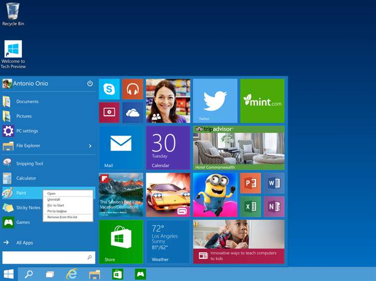Windows 10 will feature two-factor authentication on every device