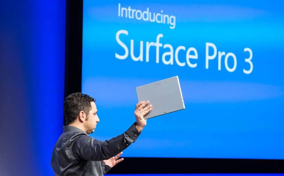 Surface prohibition still frustrates Microsoft Australia channel