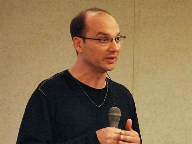Android co-founder Andy Rubin leaves Google
