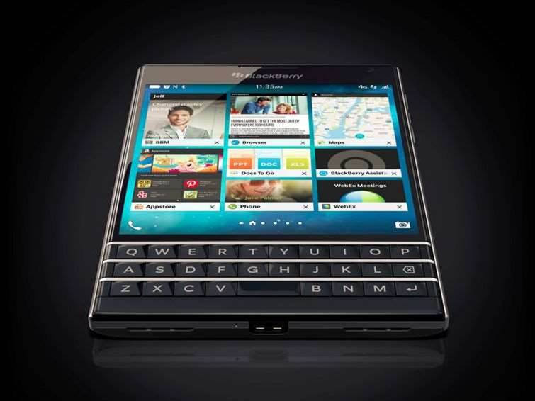 BlackBerry Passport puts company back on track