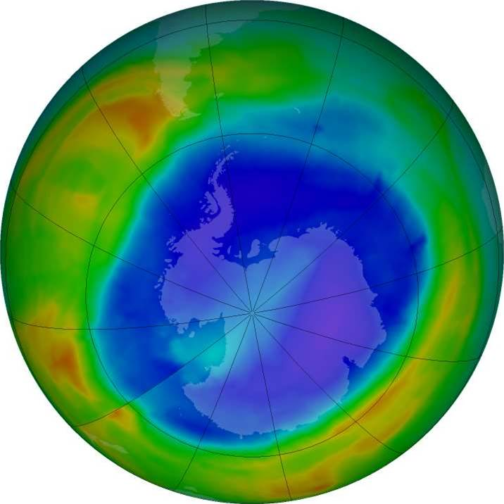 The Ozone Layer Is On The Mend