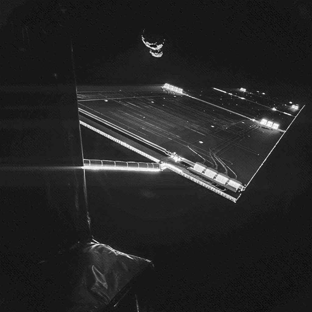 Rosetta Takes A Selfie
