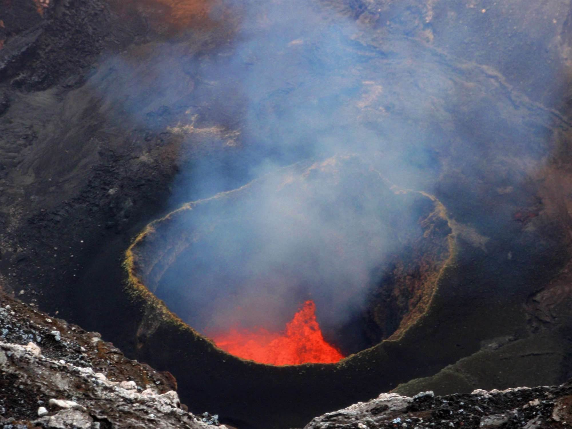Drones Mapped This Giant Volcano, And The 3D Rending Is Awesome