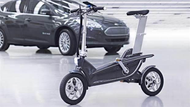 Ford shows off smart e-bikes