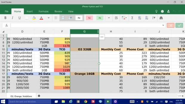 Review: Microsoft Office for Windows 10