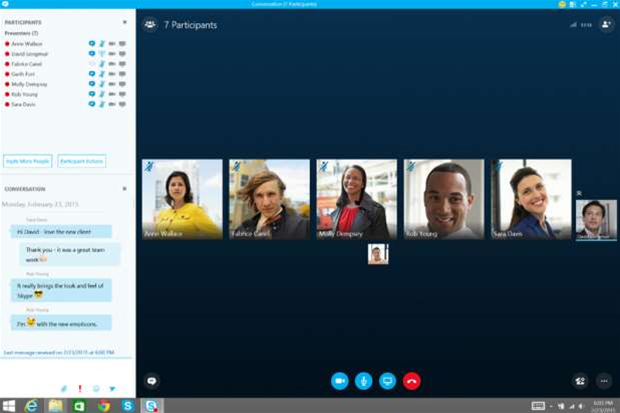Microsoft begins rollout of Skype for Business