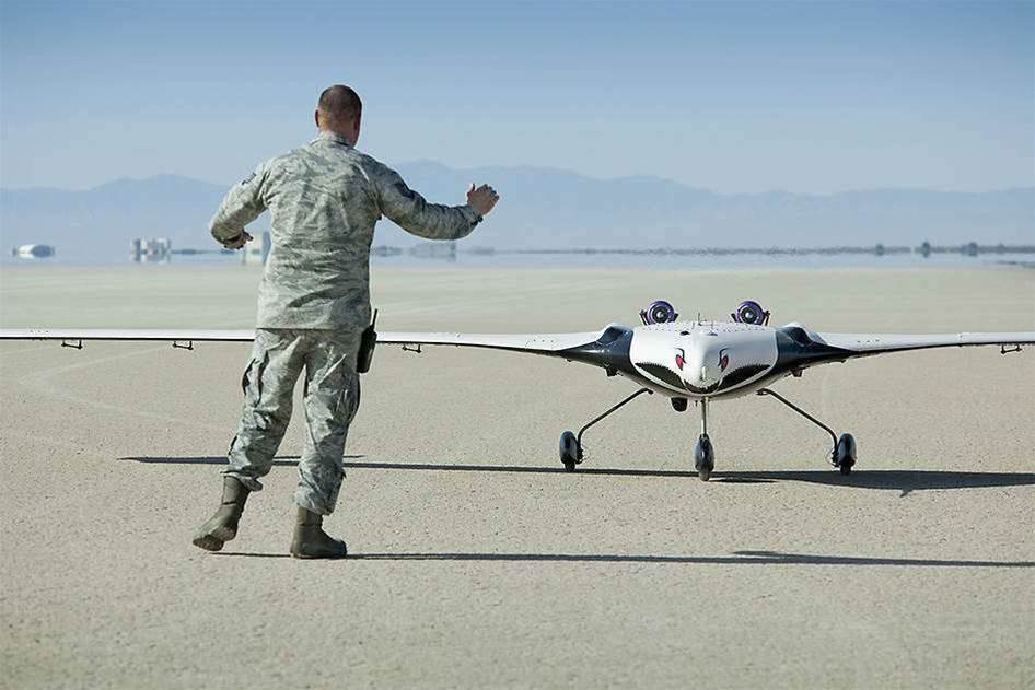 NASA Tests Cartoonish Flying Wing Drone