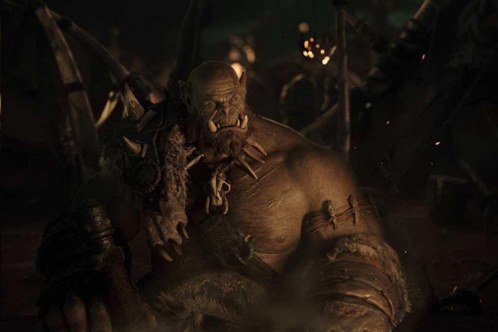First shots of Orgrim from the Warcraft movie revealed