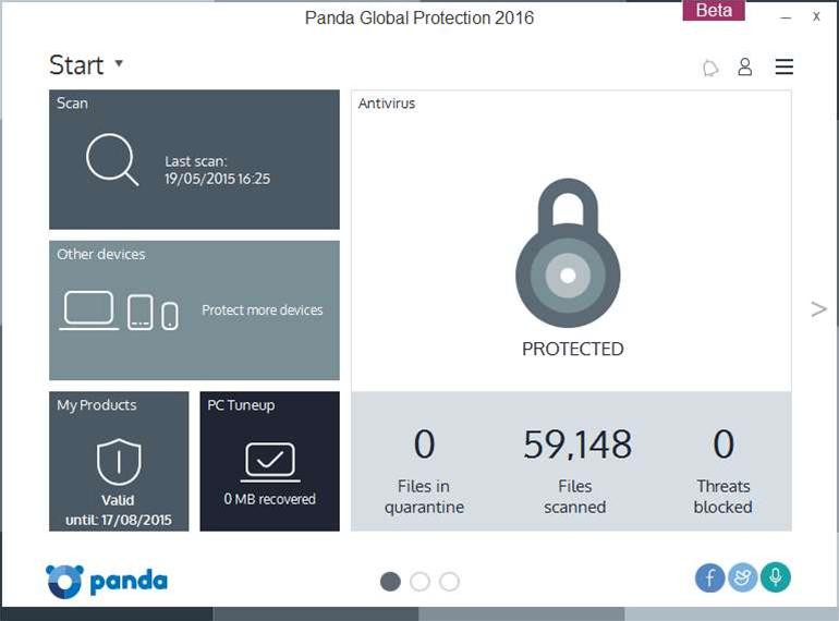 Panda Global Protection 2016 beta now available