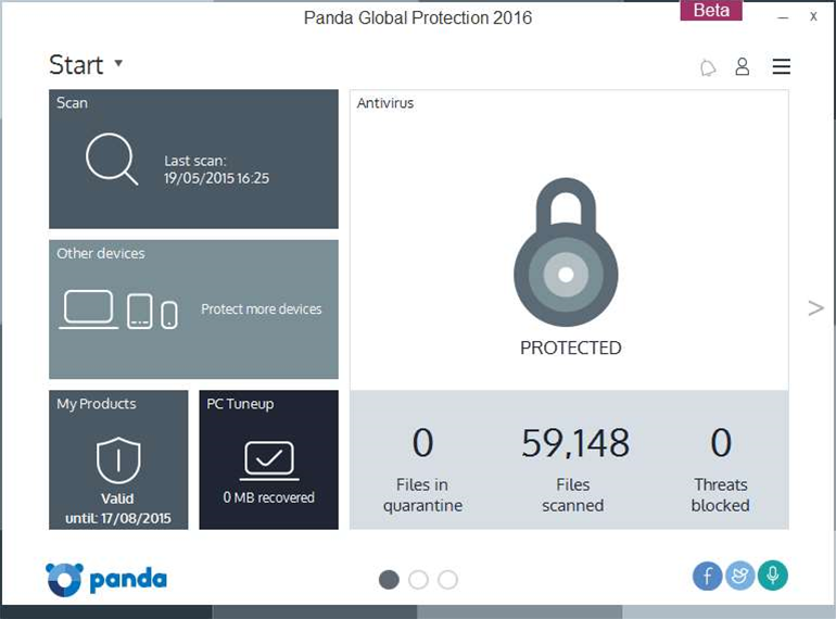 Panda Global Protection 2016 beta now available
