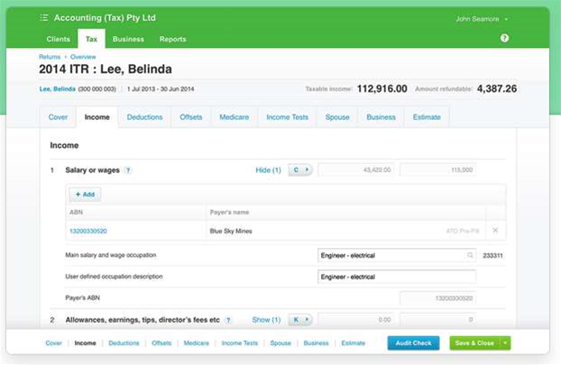 Xero puts returns into the cloud for tax agents