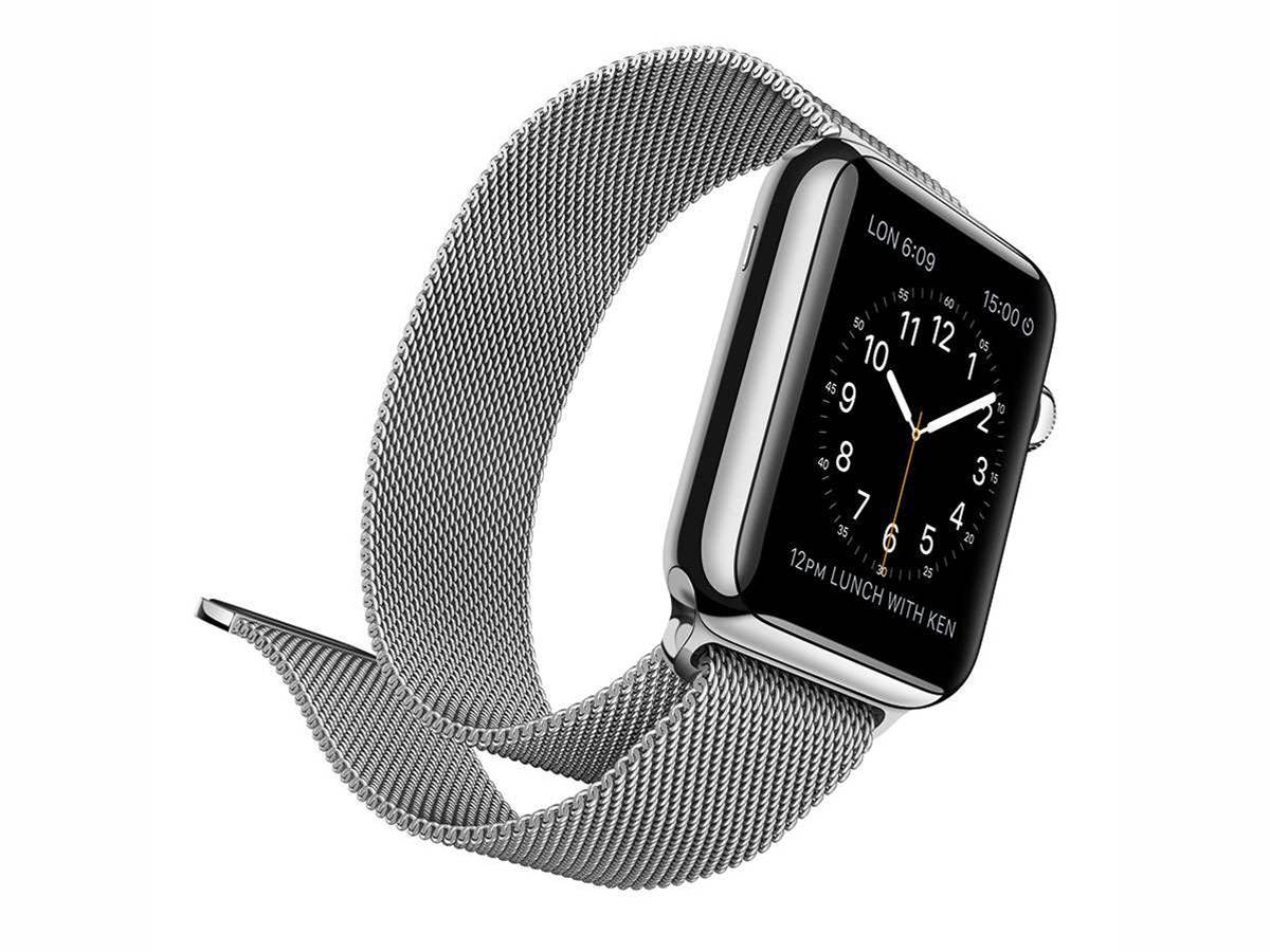 Patent shows gestures to be used for Apple Watch data transfers