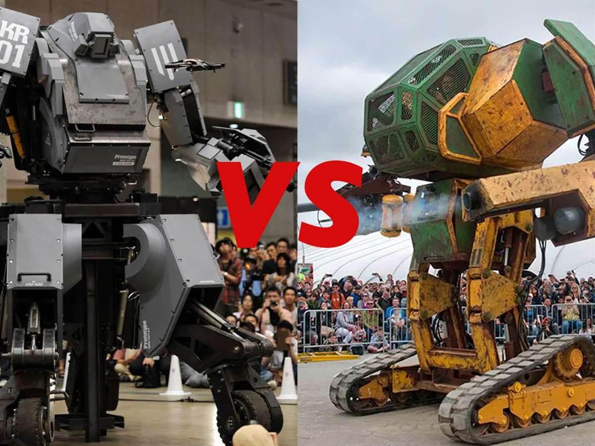 Japan accepts America's robot deathmatch challenge
