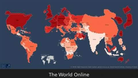 Seven maps that show how unequal internet access is