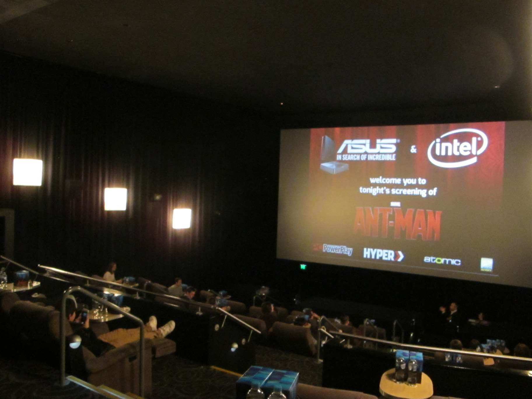 ASUS shows off new gear at Ant Man screening
