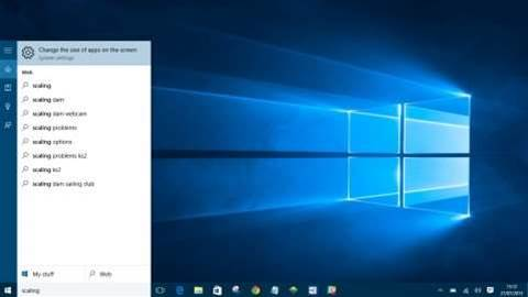 How to: Scale your desktop in Windows 10