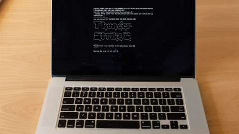 Thunderstrike 2 is new worm that can kill your Apple MacBook