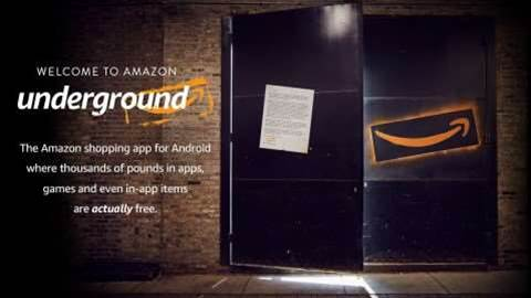 What is Amazon Underground?
