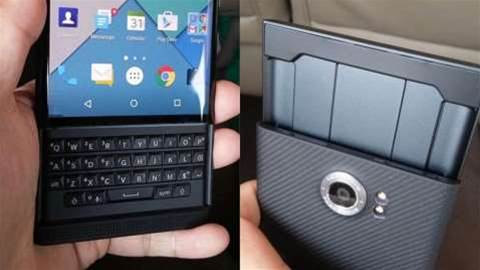 Check out these leaked images of BlackBerry's Android-powered Venice smartphone