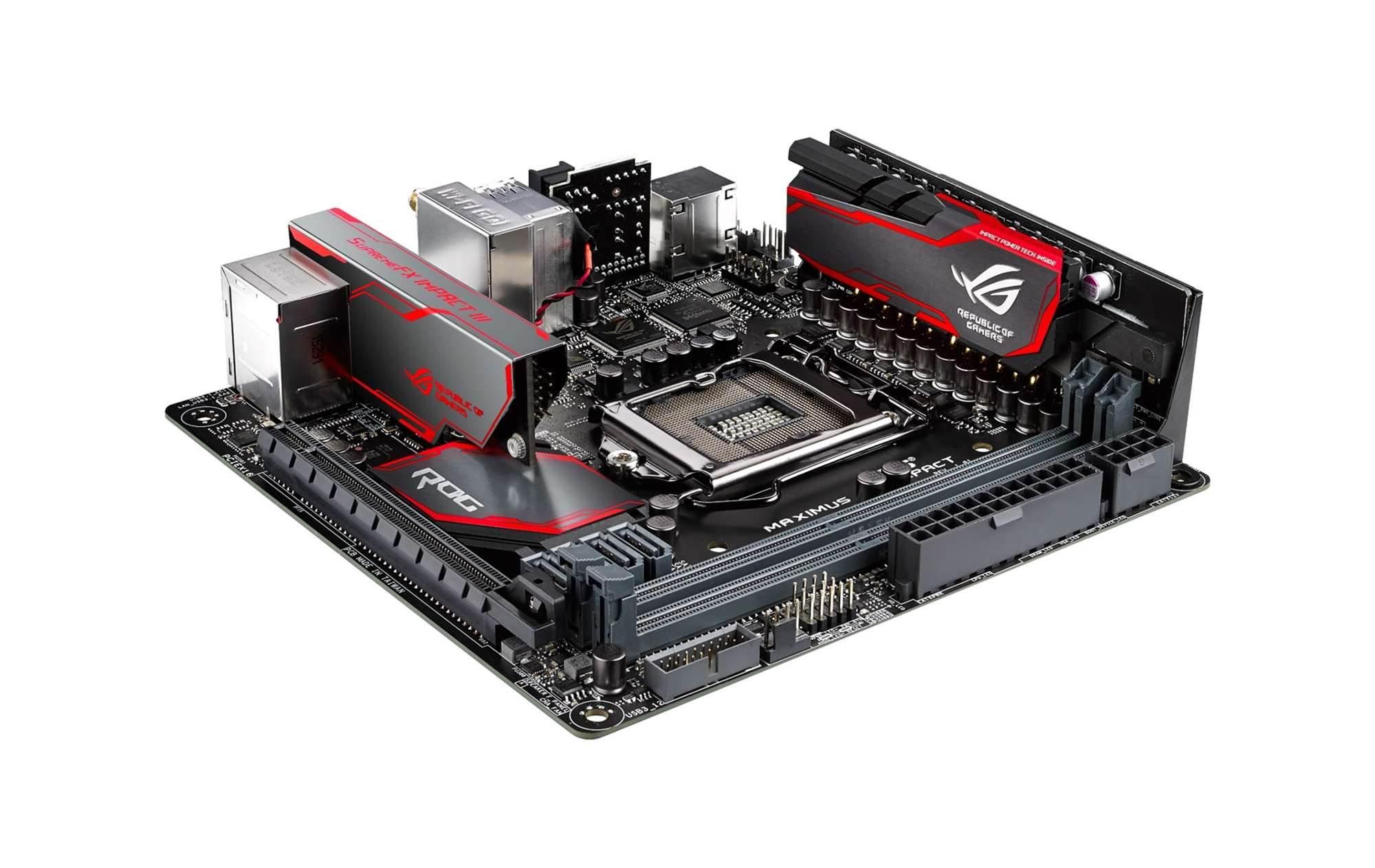 Asus reveals ROG Maximus VIII Impact motherboard