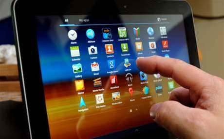 Top five tablet vendors of last quarter