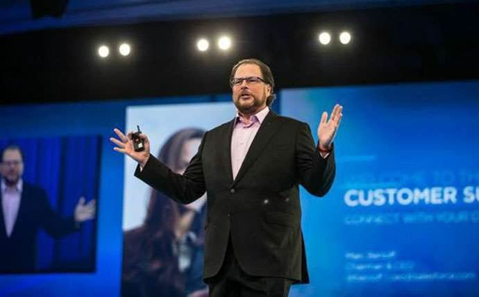 "Salesforce dubs SAP, Oracle ""cloud deniers"" as it closes stellar quarter"