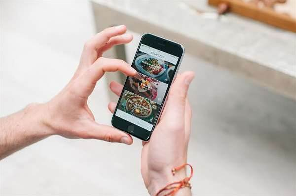 Another restaurant delivery service arrives