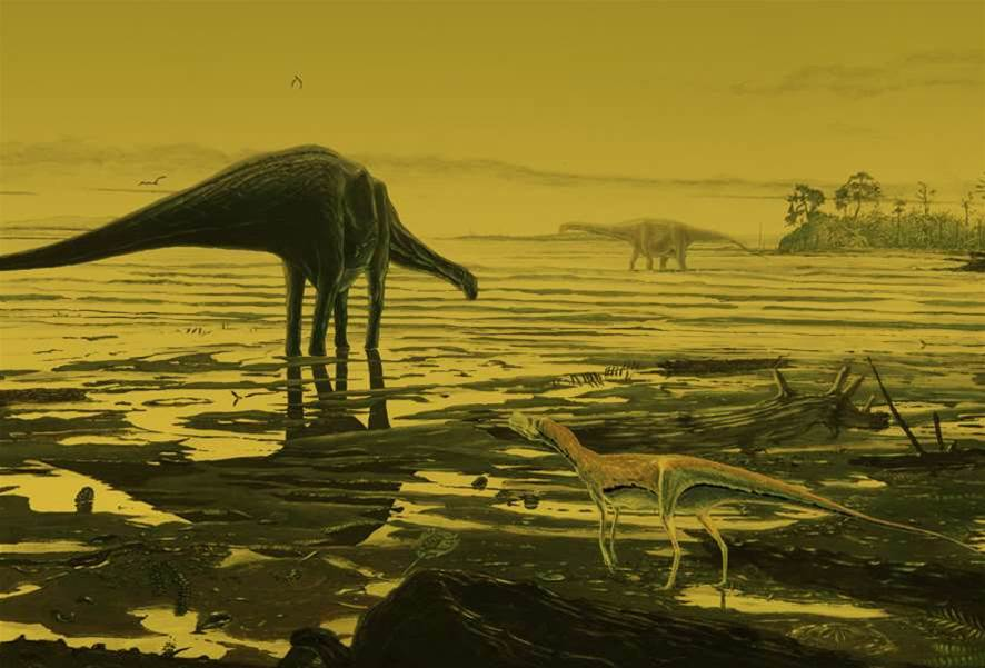 New Dinosaur Footprints Show Sauropods Frolicked In Shallow Water