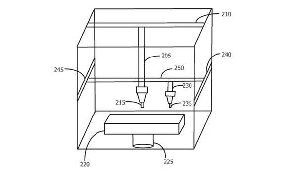Apple's 3D printing patent suggests colourful future