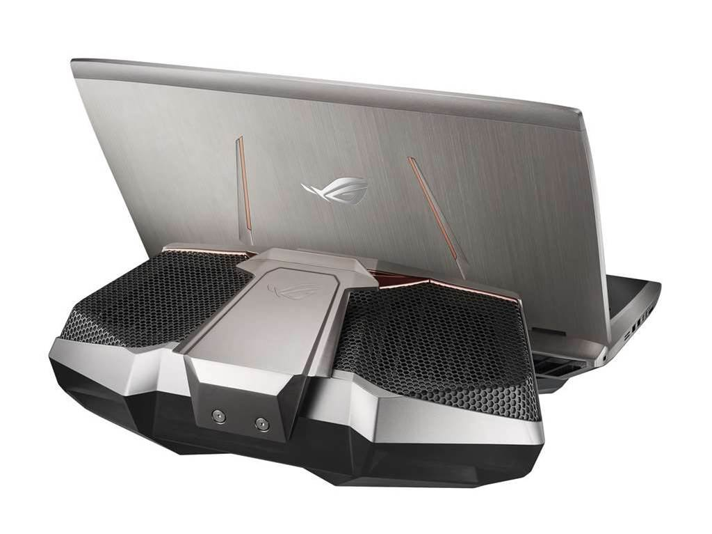 Gloriously OTT: The Asus GX700 gaming laptop