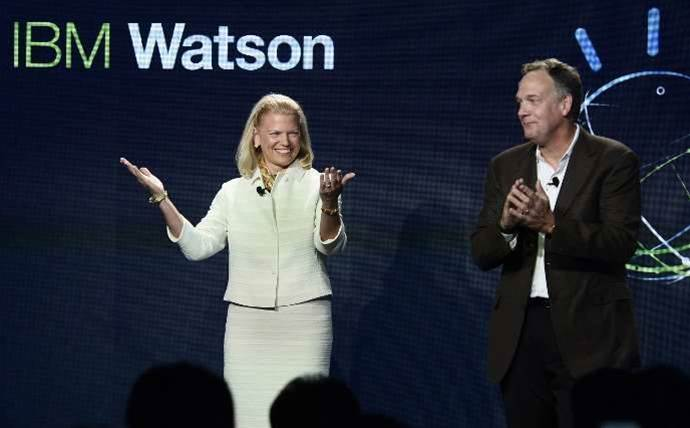 IBM chief slams rivals as 'yesterday's business model'
