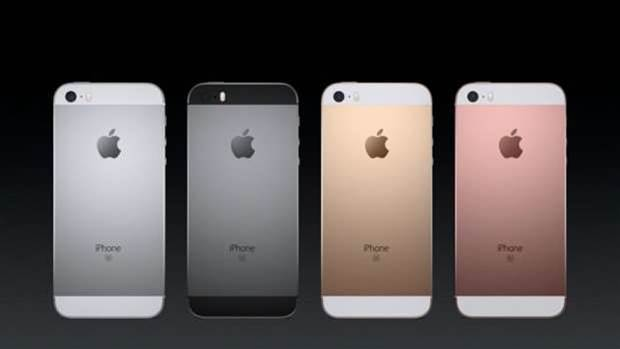 Apple lifts the lid on iPhone SE