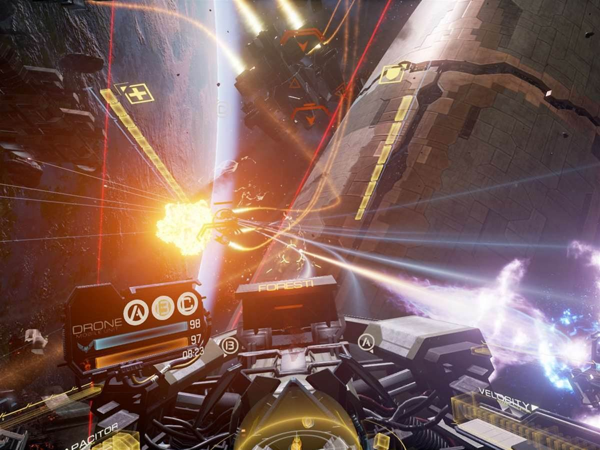 Eve Valkyrie locks and loads for cross-platform VR space battles for PC and console