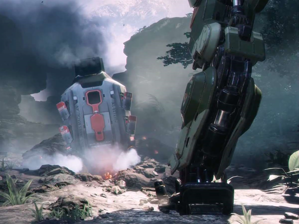 Forget wall running, Titanfall 2 could be all about grappling hooks