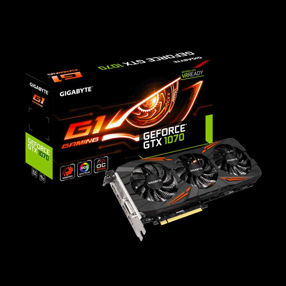Gigabyte shows off new GTX 1070, the G1 Gaming graphics card