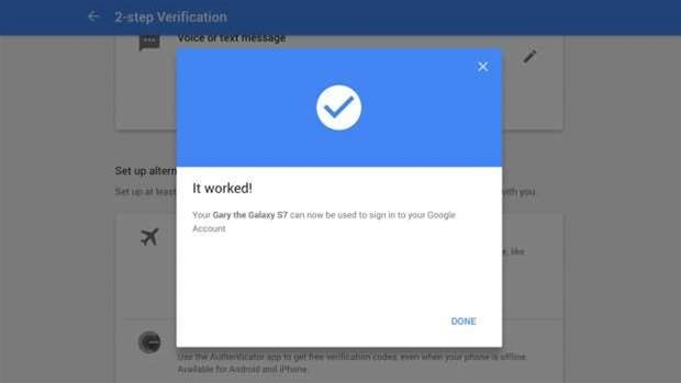 Google just made two-step authentication a lot easier