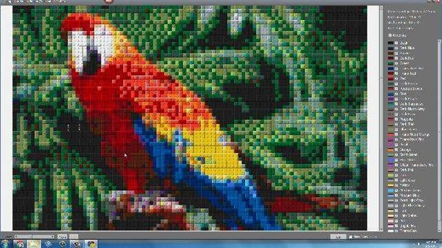 Transform pictures into LEGO mosaics with Legoaizer
